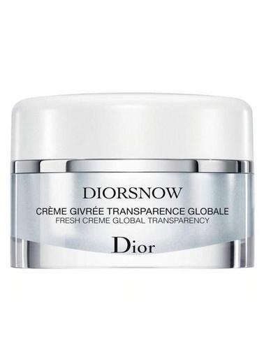 Dior Dior Diorsnow Fresh Creme Global Transparency 50 ml Renksiz